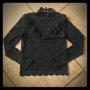 Forever 21- Thin Knit See Through Long Sleeve Top